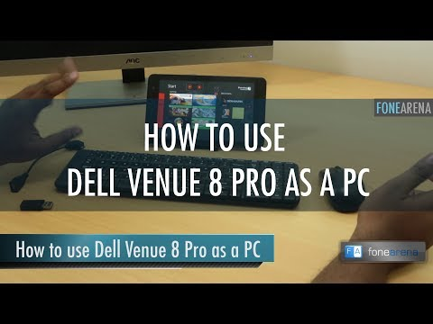 How to use Dell Venue 8 Pro as a PC
