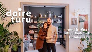 Daire Turu: Dilay ve Cem'in Kurtuluş'taki 2+1 Evi