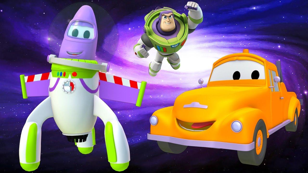 El Cohete es Buzz Lightyear de Toy Story Disney Pixar Cartoons - dibujo animados carros