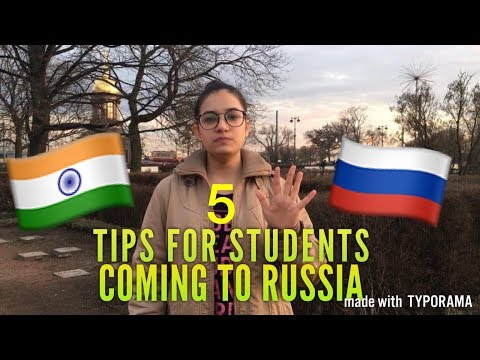 5 THINGS STUDENTS MUST KNOW BEFORE COMING TO RUSSIA|| MBBS I