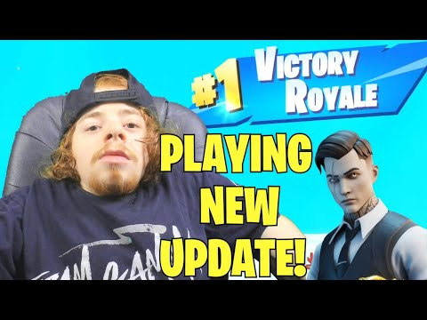 *NEW* FORTNITE UPDATE LIVE! (FORTNITE BATTLE ROYALE)