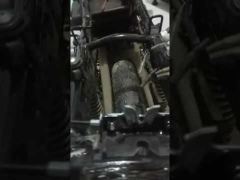 Chasis moto Hayate torcido - YouTube