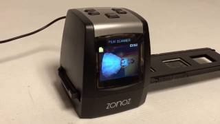 Zonoz FS-ONE Film Scanner - Saving Images To The Internal Memory