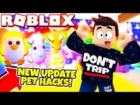 New FREE NEON PETS HACK In Adopt Me! NEW Adopt Me Furniture Update (Roblox)
