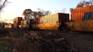NS 24W Trailer Train CHICAGO, IL (ASHLAND) - HARRISBURG, PA