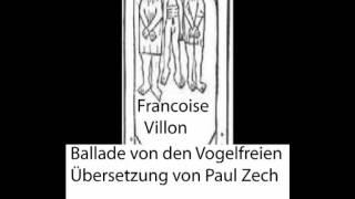 Villon-Kinski Fassung_ Ballade von den Vogelfreien-Rez. Thomas Glantz. electrophorus.de
