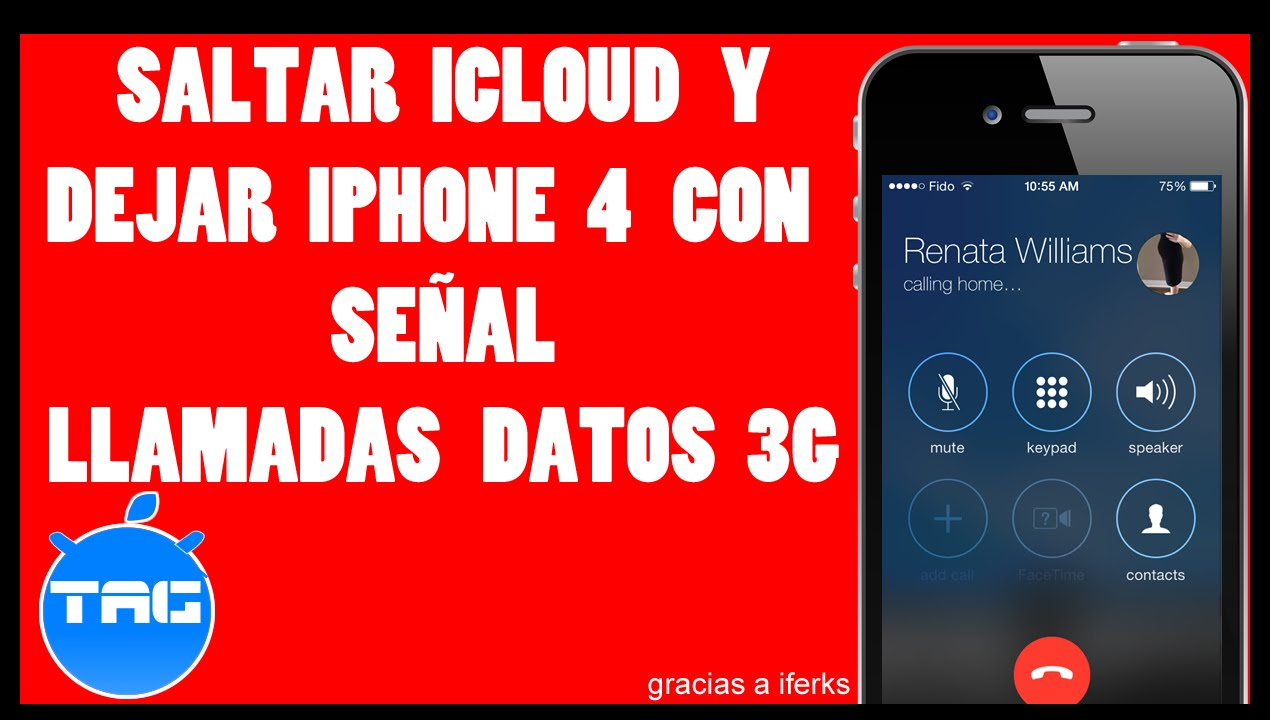 desbloquear icloud iphone 4 con señal