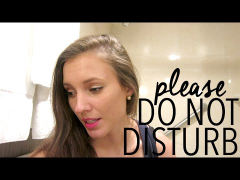 Please Do Not Disturb | Flight Attendant Life | Jenny Ernst