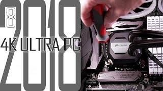 4K Ultra Gaming PC 2018 #8 CPU Kühlung aufsetzen  / Selber zusammenbauen für Anfänger
