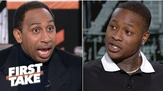Download Stephen A. and Terry Rozier debate if Giannis or Kawhi is more important to his team | First Take Mp3 and Videos