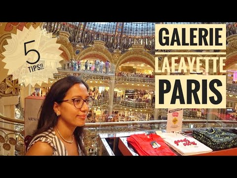 5 Tips For Paris' Best Shopping Mall: Galerie Lafayette