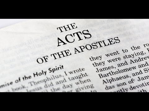 Acts of the Apostles pt 01 Cross The Border