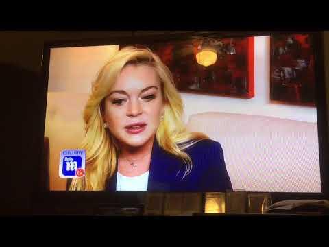 Lindsay Lohan dailymailtv interview 12-6-17 www.lindsaylohan.us