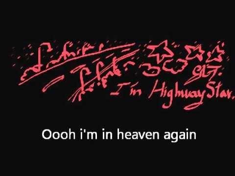 Deep Purple - Highway Star - Karaoke - Lyrics - I'm ...