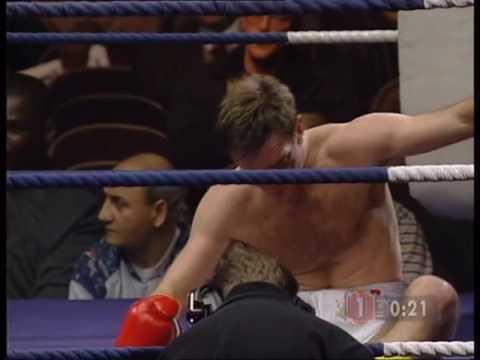 Peter Vosper vs Mark Delaney 17.2.1995 (1st Rd TKO)