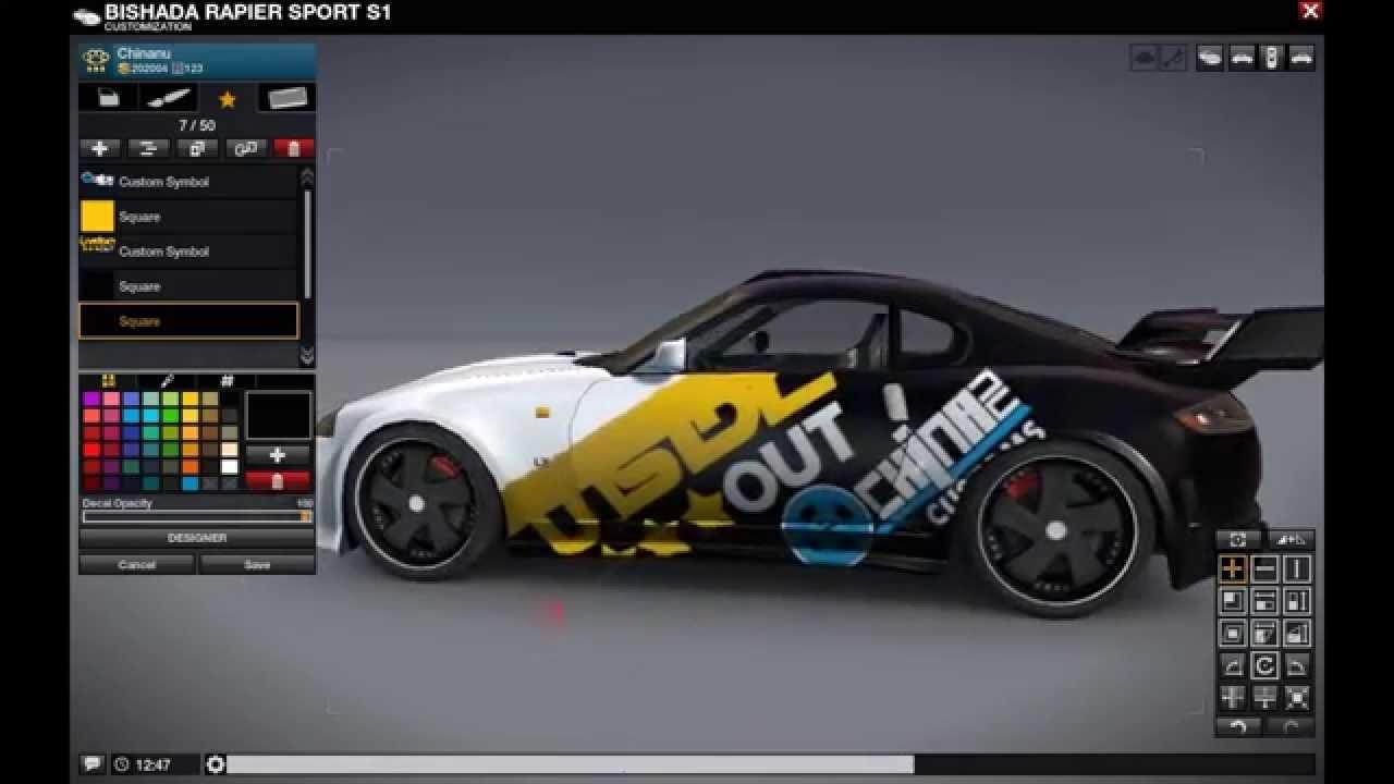 Photoshop Car Design - TheSketchMonkey