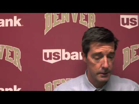 Joe Scott Postgame Interview Vs. UC Irvine (Part 1 Of 2)