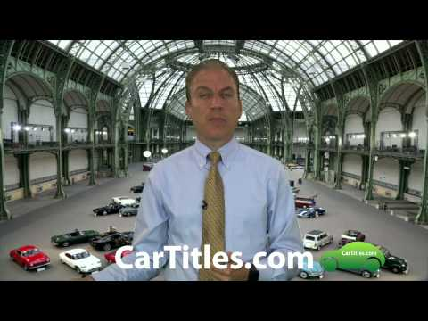 What happens when you buy a vehicle that has a lien on it?  AFX