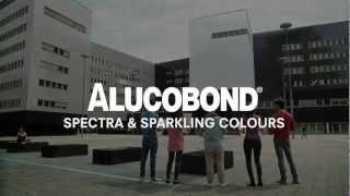 ALUCOBOND® spectra & sparkling colours – Galactic Sparkle