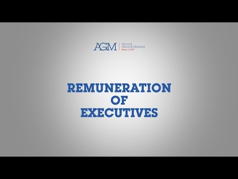 Air Liquide's 2017 Annual General Meeting - Remuneration of executives