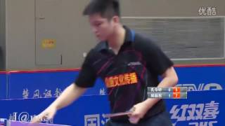 2016 China Super League: FAN Zhendong - KONG Lingxuan [Full Match/Chinese|720p]
