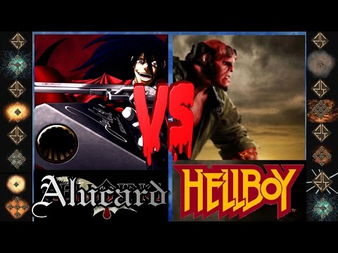 Alucard (Hellsing Ultimate) vs Hellboy (Dark Horse Comics) - Ultimate Mugen Fight 2015