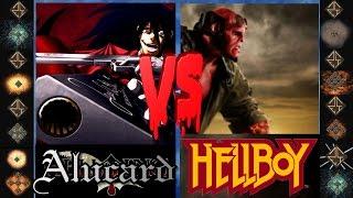 Alucard (Hellsing Ultimate) vs Hellboy (Dark Horse Comics) - Ultimate Mugen Fight 2015