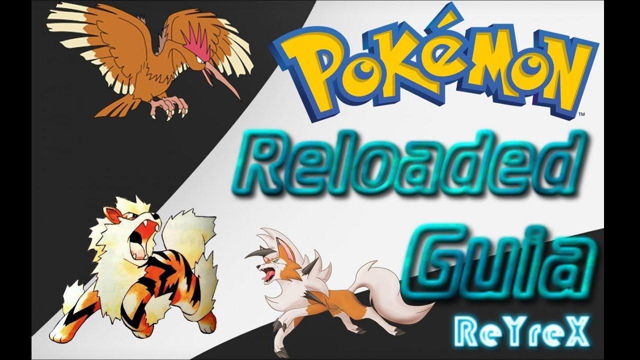 Pokemon reloaded guia completa
