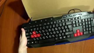 Распаковка Esperanza Titanum TK105 Ranger Gaming Keyboard