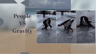 """Gravity VS People""    Funniest Fails    2019"