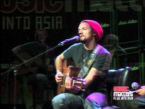 Jason Mraz - Life Is Wonderful [Live at Music Matters]