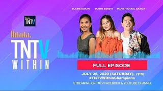 TNTV Within with Janine Berdin & Elaine Duran, Mark Michael Garcia