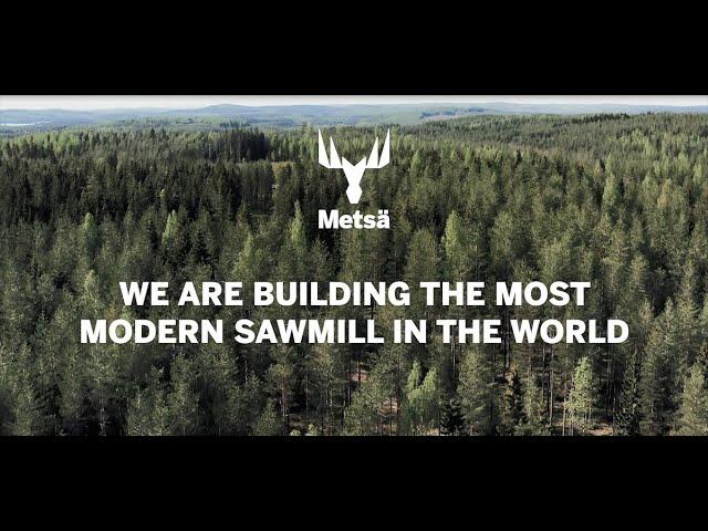 Metsä Fibre's Rauma sawmill, with English subtitles