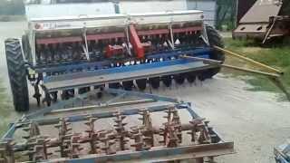Регулировка нормы высева зерна на сеялке СЗ-3,6