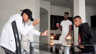 OUIJA BOARD PRANK ON AR'MON AND TREY!!! (LIVE GHOST FOOTAGE)
