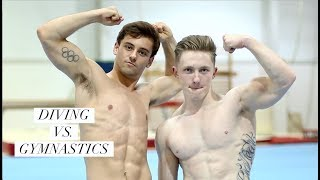 Diving into Gymnastics with Nile Wilson I Tom Daley