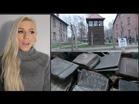 Walking Through Auschwitz   |   WARNING: Actual footage of entire camp