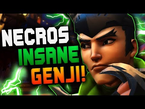 This Genji is FAST - Necros DOMINATING Competitive! 38 ELIMS![ OVERWATCH SEASON 13 TOP 500 ] thumbnail
