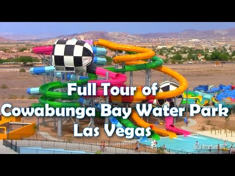 [HD] Complete Tour of Cowabunga Bay Water Park Las Vegas - Water Park Tour