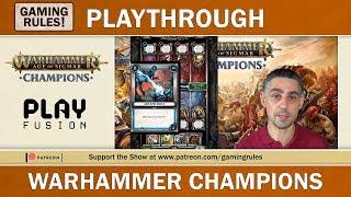 Warhammer Champions Online - Playthrough & Teach