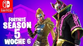 🔴 TIME TIME! WEEK 6 Battle Pass Season 5 Challenges | Fortnite Nintendo Switch