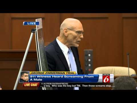 "Zimmerman Trial - Pt. 1 - Don ""Walter White"" West Opening Statement - Pummels The Prosecution"