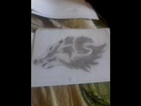Рисунки карандашом. Волк