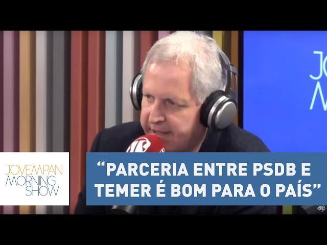 """Nunes: """"Parceria entre PSDB e Temer é bom para o país por conta das reformas""""   Morning Show"""