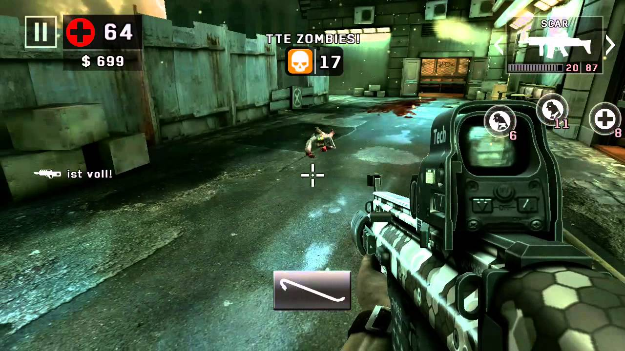 Dead Trigger 2 #SCAR# Android HD Gameplay
