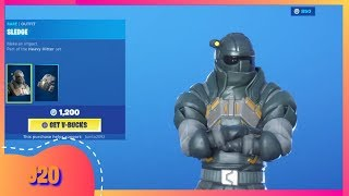 FORTNITE ITEM SHOP TODAY september 2nd NEW SKIN SLEDGE BUNDLE ( FORTNITE BATTLE ROYALE )