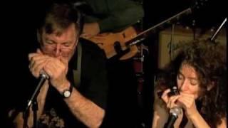 """""""Orange Dude Blues"""" - John Sebastian Annie Raines harp duet"""