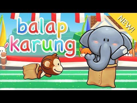 Lagu Anak Indonesia | Balap Karung