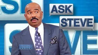 Ask Steve: Don't correct me! || STEVE HARVEY