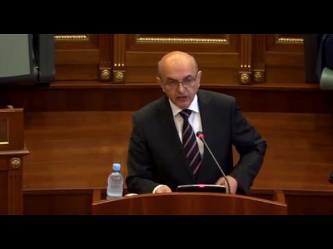 Fjalimi i Kryeministrit Isa Mustafa i mbajtur sot në Kuvendin e Republikës së Kosovës